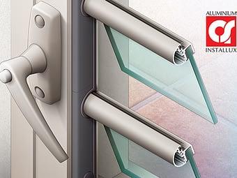 Illustrations de fenêtres et volets Installux Aluminium / S2