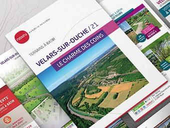 Supports de communication NEXITY Bourgogne – Franche-Comté