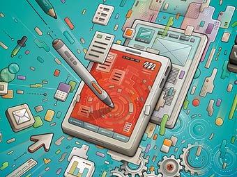 Illustration Tech design process