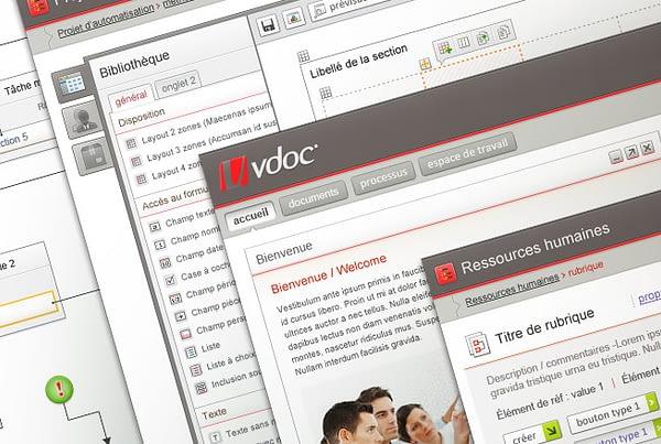 Design interface plateforme VDoc