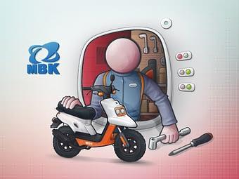 Icônes et illustrations MBK